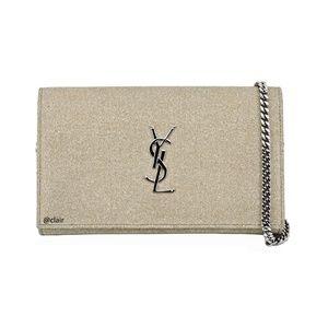 New Saint Laurent Monogram Kate Spark WOC Bag